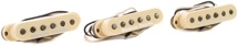 Seymour Duncan Custom Shop Psychedelic Strat Pickup Set - Cream With Logo