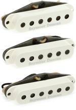 Seymour Duncan Custom Shop Psychedelic Strat Pickup Set - Parchment With Logo
