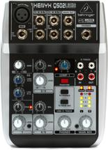 Behringer Xenyx Q502USB Mixer and USB Audio Interface