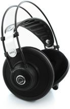 AKG Quincy Jones Q701 Stereo Headphones, Black - Semi-open