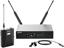 Shure QLXD14/83 Lavalier Wireless Microphone System - G50 Band, 470-534 MHz