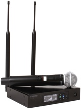 Shure QLXD24/SM58 Handheld Wireless System - G50 Band, 470-534MHz