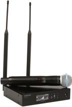 Shure QLXD24/B58 Handheld Wireless System - V50 Band, 174-216 MHz