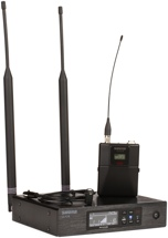 Shure QLXD14/84 Wireless Lavalier System - V50 Band, 174-216 MHz