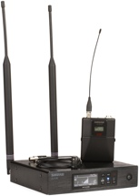 Shure QLXD14/85 Wireless Lavalier System - V50 Band, 174-216 MHz