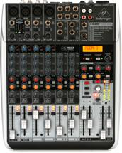 Behringer Xenyx QX1204USB Mixer and USB Audio Interface with Effects