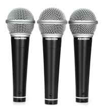 Samson R21 Microphone 3-pack