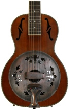 Washburn R360K Parlor Resonator - Natural