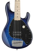 Sterling Ray35 Quilt Maple 5-string - Neptune Blue