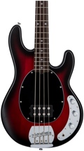 Sterling Ray4 - Ruby Red Burst Satin, Rosewood Fingerboard