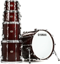 "Yamaha Recording Custom Series Shell Pack - 5-pc w/22"" Kick - Classic Walnut"