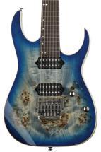 Ibanez RG Premium RG1027PBF - Cerulean Blue Burst