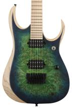 Ibanez RGD Iron Label RGDIX6MPB - Surreal Blue Burst