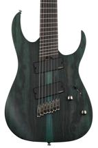 Ibanez RG Iron Label RGIM7BC Multi Scale - Deep Forest Burst Flat