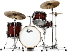 Gretsch Drums Renown 4-piece Jazz Shell Pack with Matching Snare - Cherry Burst