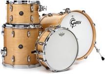 Gretsch Drums Renown 4-piece Jazz Shell Pack with Matching Snare - Gloss Natural