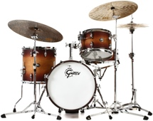 Gretsch Drums Renown 4-piece Jazz Shell Pack with Matching Snare - Satin Tobacco Burst