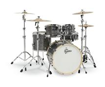 Gretsch Drums Renown 5-piece Shell Pack With Snare Drum - Blue Metal