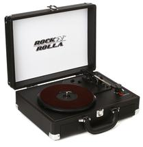 Rock N Rolla Junior Briefcase Turntable - Black
