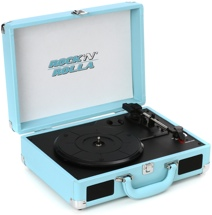 Rock N Rolla Junior Briefcase Turntable - Teal