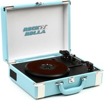 Rock N Rolla Premium Briefcase Turntable - Teal