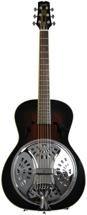 Wechter Guitars Scheerhorn Model Roundneck Resonator Guitar - F Hole, Tobacco Sunburst