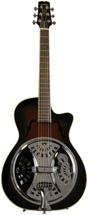 Wechter Guitars Scheerhorn Model Roundneck Resonator - F Hole, Tobacco Sunburst