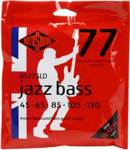 Rotosound RS775LD Jazz 77 Monel Flatwound Long Scale 5-String Bass Strings