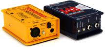 Radial Re-amping Pack 1-channel X-Amp / J48 Reamping Bundle w/Case