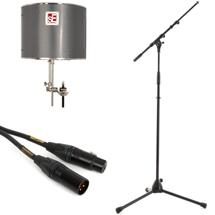 sE Electronics Reflexion Pro Pack - w/K&M Mic Stand & Mogami Mic Cable