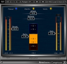 Waves Renaissance Compressor Plug-in