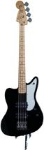 Fender Pawn Shop Reverse Jaguar Bass - Black