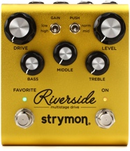 review the strymon riverside multistage drive pedal sweetwater. Black Bedroom Furniture Sets. Home Design Ideas
