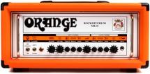 Orange Rockerverb 50 MKII - 50-Watt 2-Channel Tube Head Orange