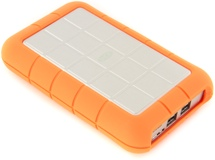 LaCie Rugged Triple 500GB Legacy Compatible Portable Hard Drive
