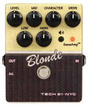 Tech 21 Character Series Blonde V2 Overdrive Pedal