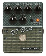 Tech 21 SansAmp Character Series VT Bass V2