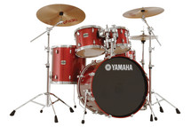 Yamaha Stage Custom 5-piece Drum Kit - Cranberry Red