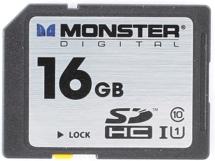 Monster Digital Vault Series SDHC 16GB - 16 GB, Mil-Spec, Class 10