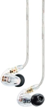 Shure SE315 Sound Isolating Earphones - Clear