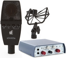sE Electronics SE4400a with RND 5017 Preamp Package