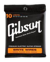 Gibson Accessories 700L Brite Wires Electric Strings - .010-.046 - Light