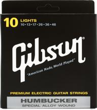 Gibson Accessories SA10 Humbucker Special Electric Strings - .010-.046 - Light