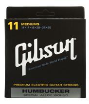 Gibson Accessories SA11 Humbucker Special Electric Strings - .011-.050 - Medium Light
