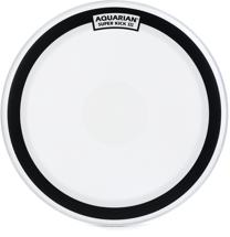 "Aquarian Drumheads Superkick 3 Coated BD head - 22"" - White"