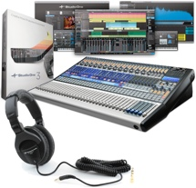 PreSonus SLM3244AI with Studio One 3 Professional and HD280Pro Headphones