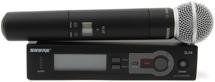 Shure SLX24/SM58 Handheld Wireless System J3 Band, 572-596 MHz
