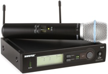 Shure SLX24/Beta87C Handheld Wireless System - H19 Band, 542-572MHz