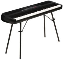 Korg SP-280 Digital Piano with Speakers - Black