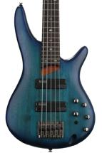 Ibanez SR505 5-string - Sapphire Blue Flat